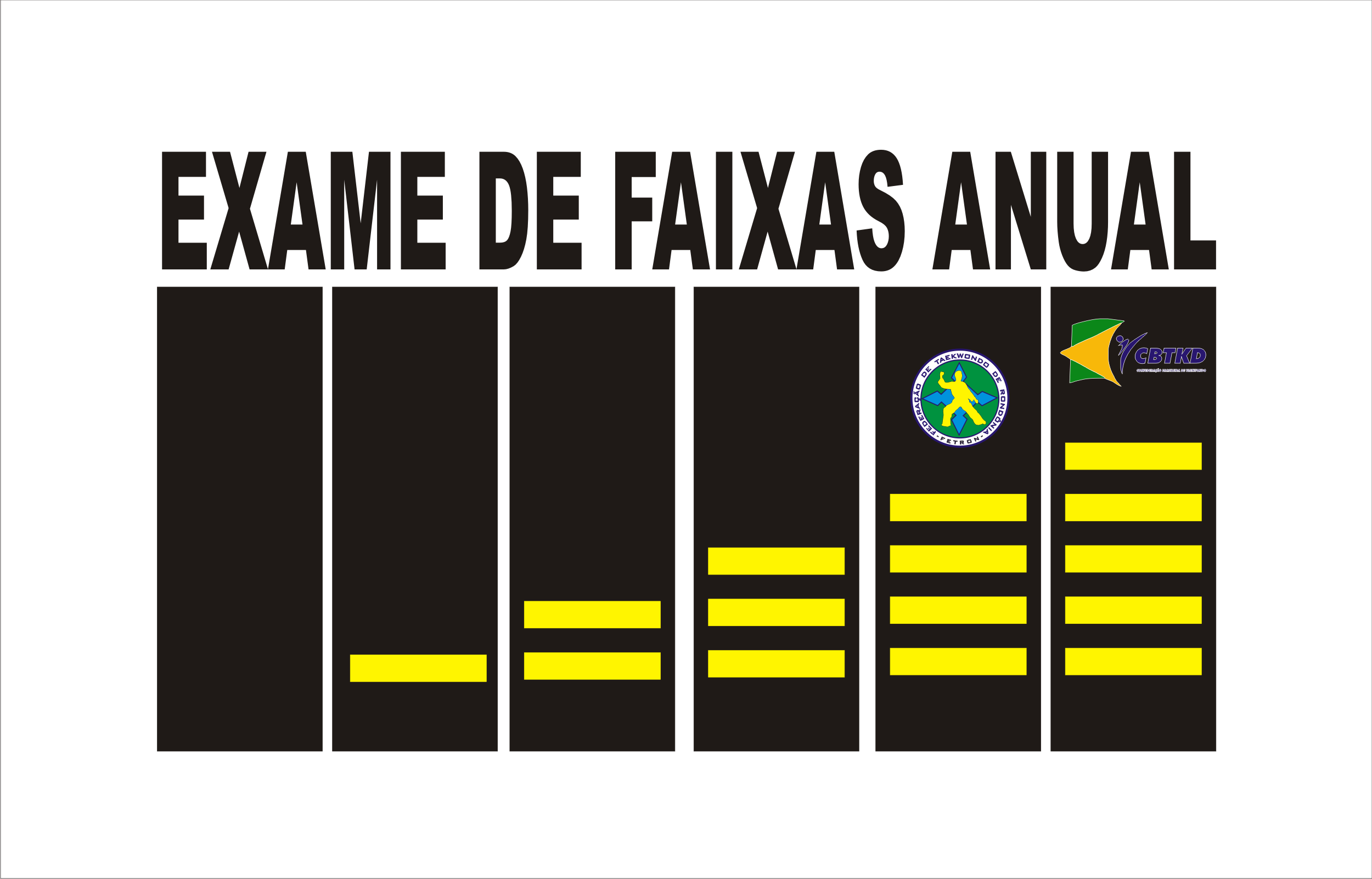EXAME ANUAL DE FAIXAS PRETAS