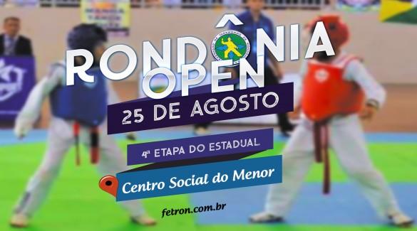RONDÔNIA OPEN 2019 PROXIMO FINAL DE SEMANA