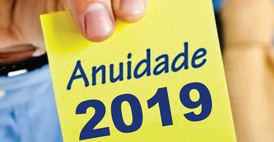 ANUIDADE 2019 - AGREMIAÇÕES