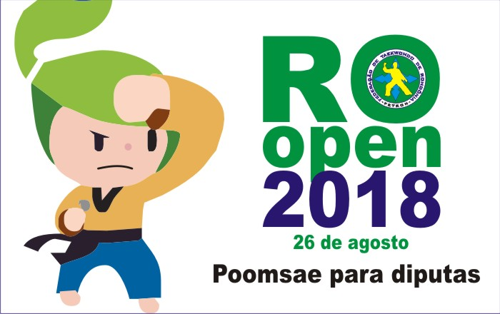 POOMSAES PARA AS DISPUTAS DE DOMINGO!